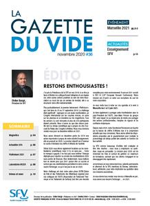 Gazette du Vide N°36